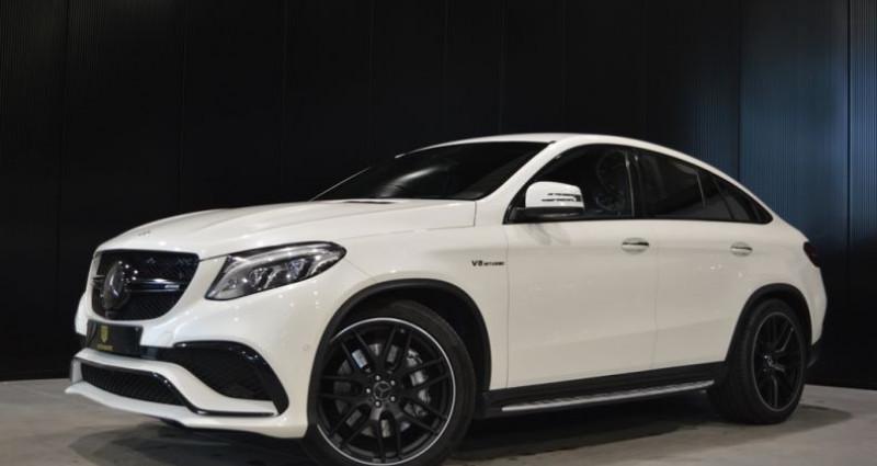 Mercedes GLE Coupe 63 AMG 4 MATIC 557 ch Superbe état !! Blanc occasion à Lille