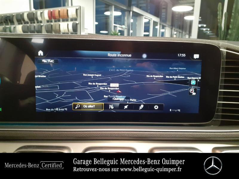 Mercedes GLE 300 d 245ch AMG Line 4Matic 9G-Tronic Noir occasion à QUIMPER - photo n°8