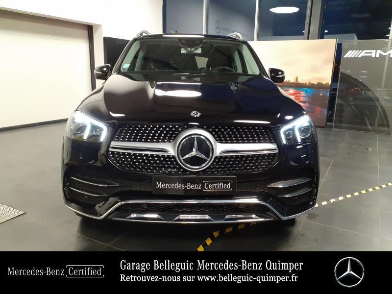Mercedes GLE 300 d 245ch AMG Line 4Matic 9G-Tronic Noir occasion à QUIMPER - photo n°5