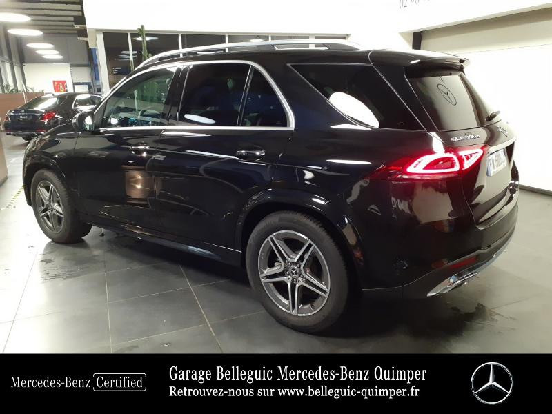 Mercedes GLE 300 d 245ch AMG Line 4Matic 9G-Tronic Noir occasion à QUIMPER - photo n°3