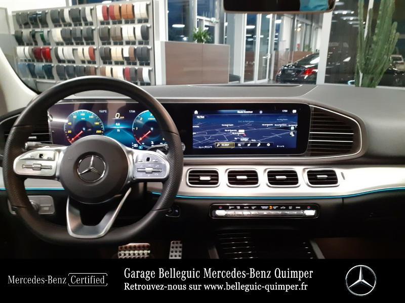 Mercedes GLE 300 d 245ch AMG Line 4Matic 9G-Tronic Noir occasion à QUIMPER - photo n°6