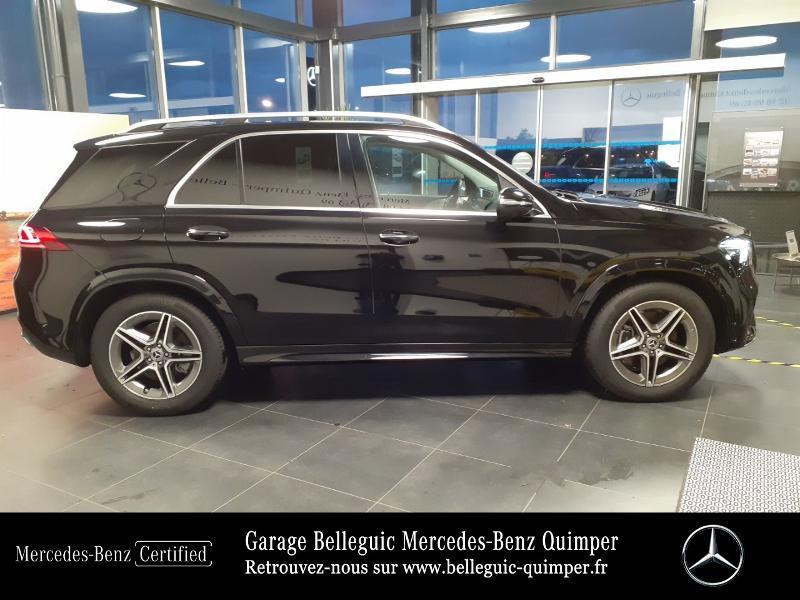 Mercedes GLE 300 d 245ch AMG Line 4Matic 9G-Tronic Noir occasion à QUIMPER - photo n°4