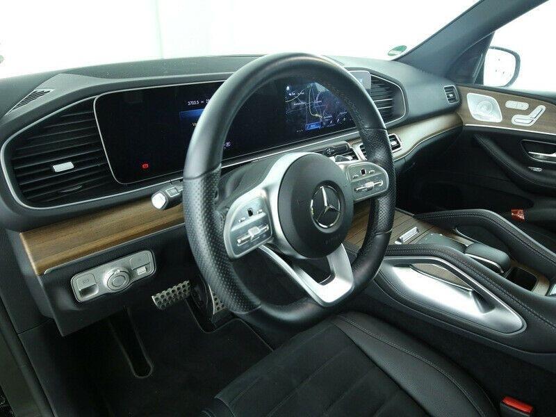 Mercedes GLE 300 D 245CH AMG LINE 4MATIC 9G-TRONIC Noir occasion à Villenave-d'Ornon - photo n°4