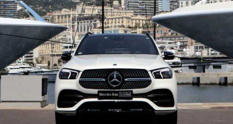 Mercedes GLE 450 367ch+22ch EQ Boost AMG Line 4Matic 9G-Tronic Blanc occasion à MONACO - photo n°2