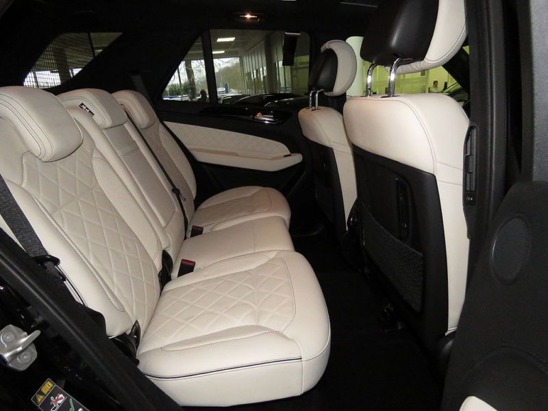 Mercedes GLE 500 4 Matic AMG Noir occasion à Beaupuy - photo n°3