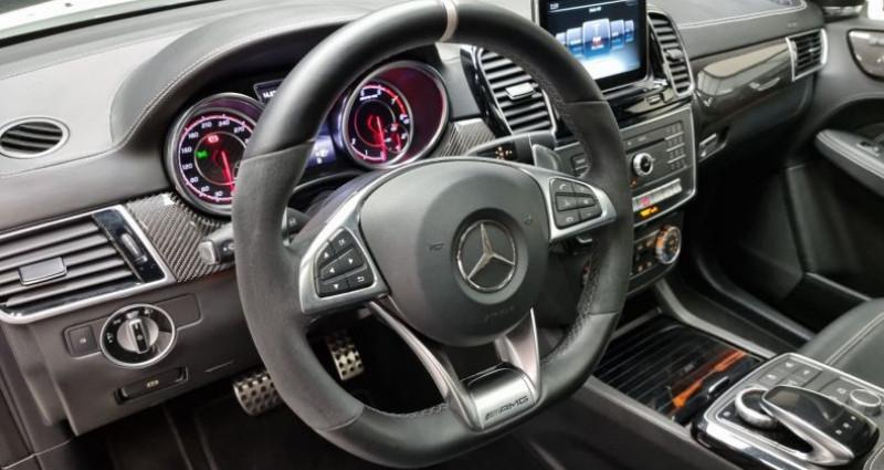 Mercedes GLE 63S AMG 5.5l V8 585ch 4MATIC ATTELAGE ELEC Blanc occasion à MONTBRISON - photo n°7