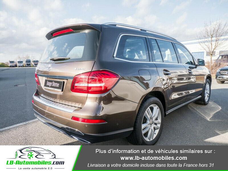 Mercedes GLS 350 d 9G-Tronic 4Matic Marron occasion à Beaupuy - photo n°3