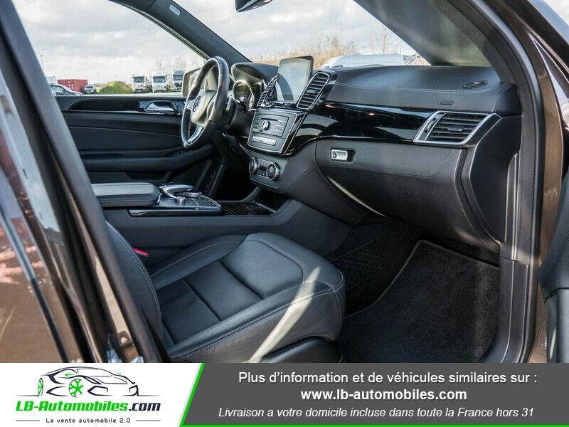 Mercedes GLS 350 d 9G-Tronic 4Matic Marron occasion à Beaupuy - photo n°4