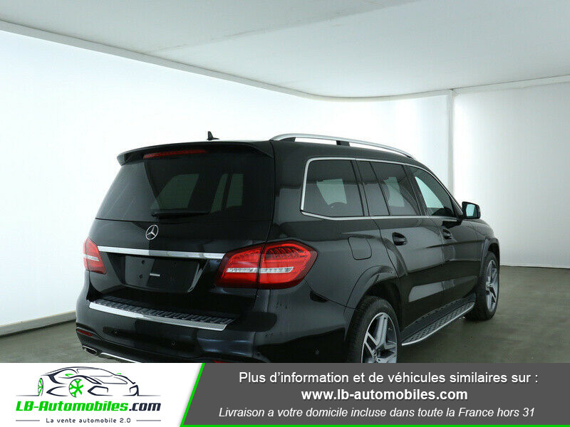 Mercedes GLS 400 9G-Tronic 4Matic Noir occasion à Beaupuy - photo n°3