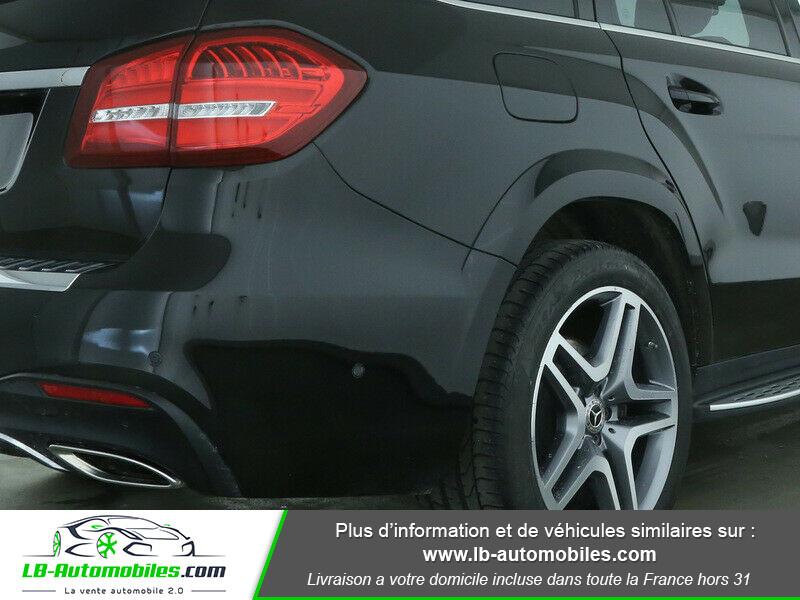 Mercedes GLS 400 9G-Tronic 4Matic Noir occasion à Beaupuy - photo n°8