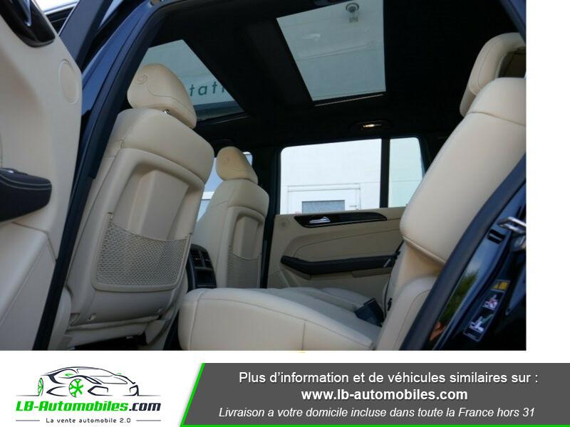 Mercedes GLS 400 9G-Tronic 4Matic Noir occasion à Beaupuy - photo n°6
