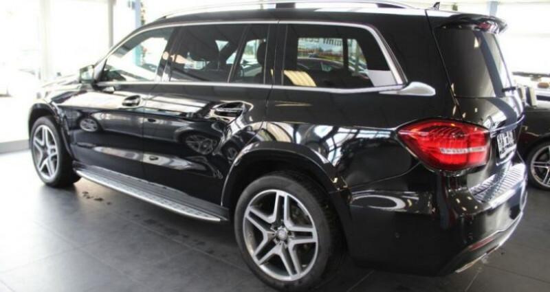 Mercedes GLS 500 455ch Executive 4M 9G-Tronic Noir occasion à Boulogne-Billancourt - photo n°2
