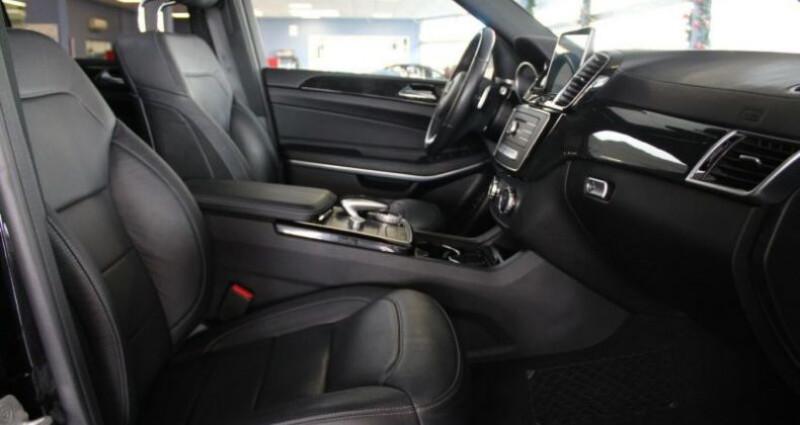 Mercedes GLS 500 455ch Executive 4M 9G-Tronic Noir occasion à Boulogne-Billancourt - photo n°3