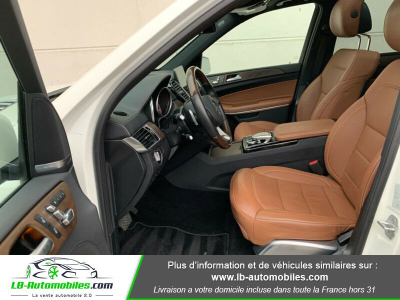 Mercedes GLS 500 9G-Tronic 4Matic Blanc occasion à Beaupuy - photo n°5
