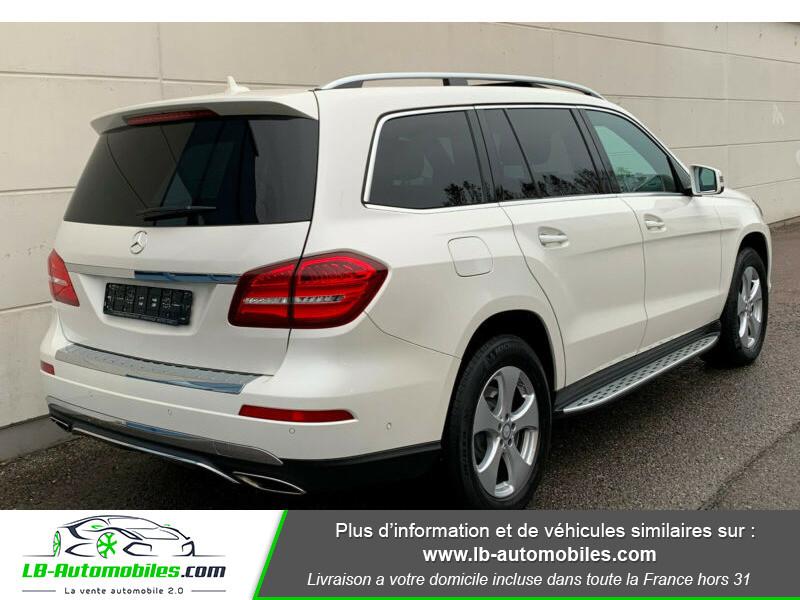 Mercedes GLS 500 9G-Tronic 4Matic Blanc occasion à Beaupuy - photo n°3