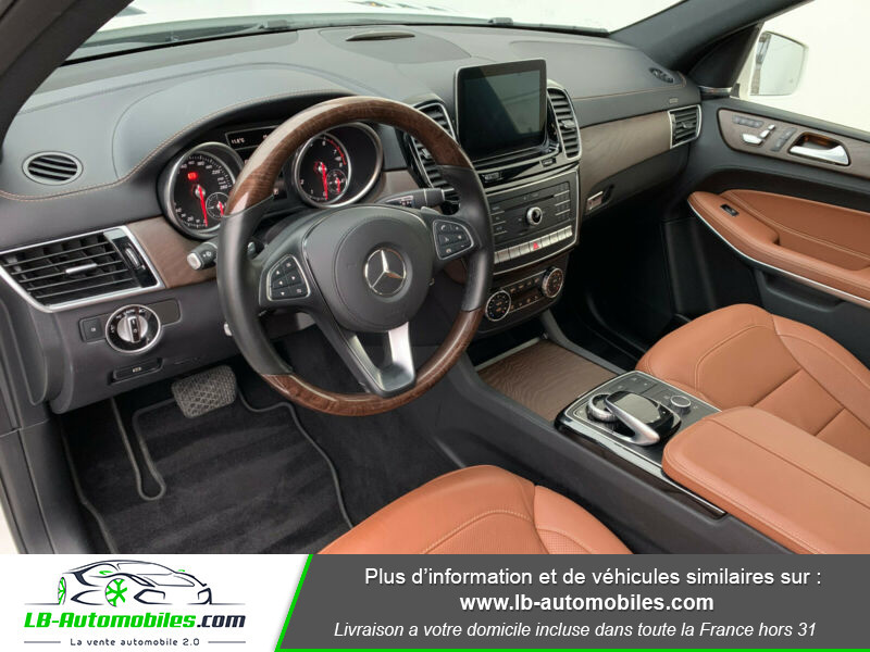 Mercedes GLS 500 9G-Tronic 4Matic Blanc occasion à Beaupuy - photo n°4