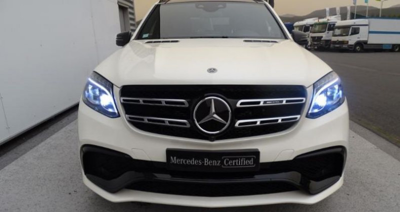 Mercedes GLS 63 AMG 585ch 4Matic 7G-Tronic Speedshift Plus Euro6d-T Blanc occasion à Saint-germain-laprade - photo n°7