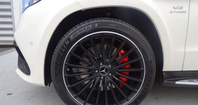 Mercedes GLS 63 AMG 585ch 4Matic 7G-Tronic Speedshift Plus Euro6d-T Blanc occasion à Saint-germain-laprade - photo n°6