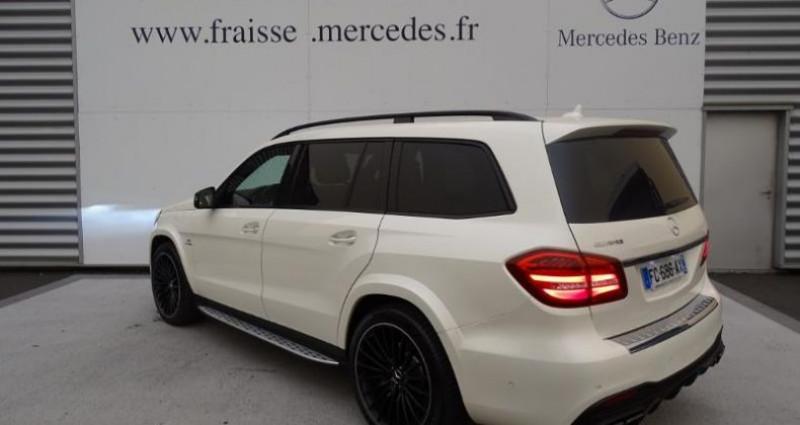 Mercedes GLS 63 AMG 585ch 4Matic 7G-Tronic Speedshift Plus Euro6d-T Blanc occasion à Saint-germain-laprade - photo n°5