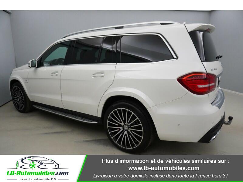 Mercedes GLS 63 Mercedes-AMG 7G-Tronic Speedshift+ AMG 4Matic Blanc occasion à Beaupuy - photo n°6