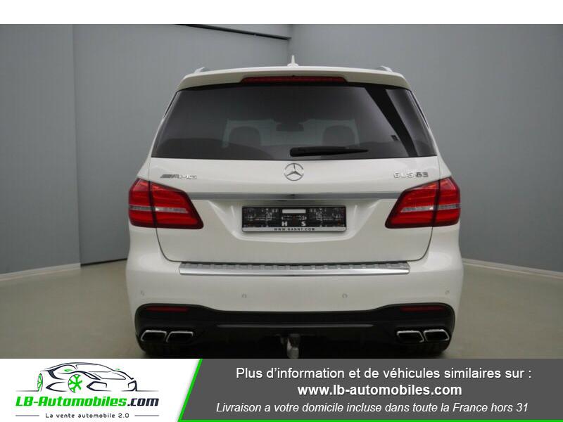 Mercedes GLS 63 Mercedes-AMG 7G-Tronic Speedshift+ AMG 4Matic Blanc occasion à Beaupuy - photo n°5