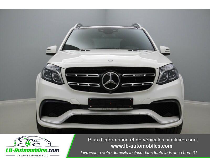 Mercedes GLS 63 Mercedes-AMG 7G-Tronic Speedshift+ AMG 4Matic Blanc occasion à Beaupuy - photo n°8