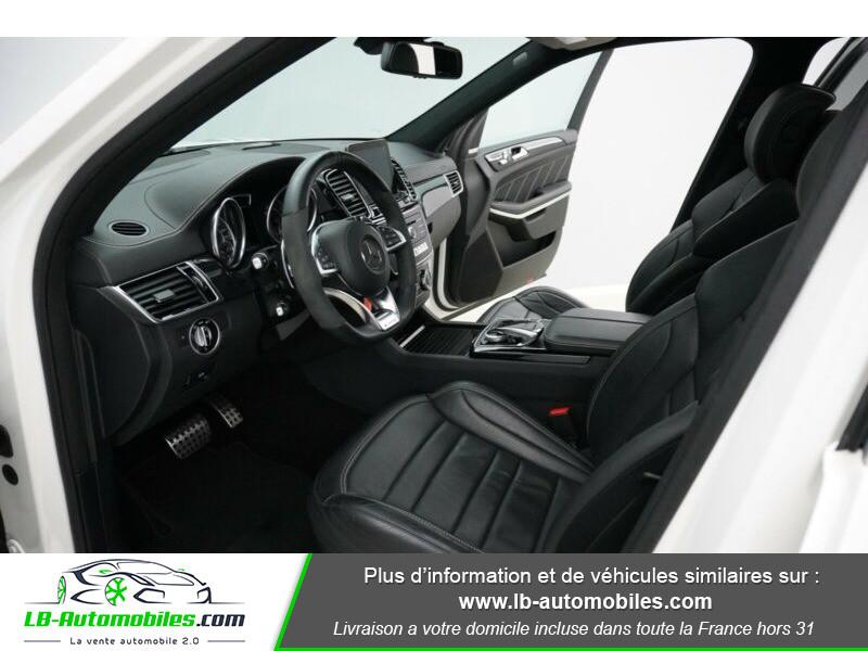 Mercedes GLS 63 Mercedes-AMG 7G-Tronic Speedshift+ AMG 4Matic Blanc occasion à Beaupuy - photo n°16