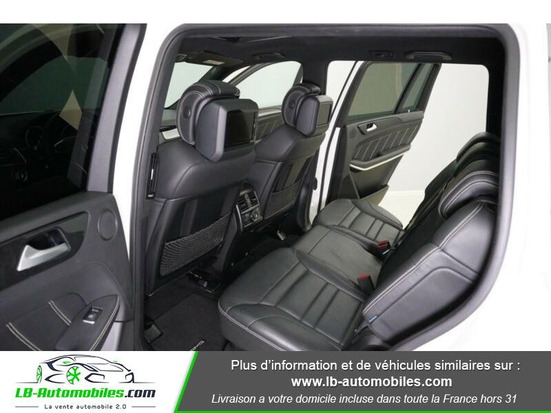 Mercedes GLS 63 Mercedes-AMG 7G-Tronic Speedshift+ AMG 4Matic Blanc occasion à Beaupuy - photo n°11