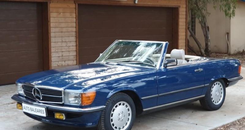 Mercedes SL 300 SL (R 107) Bleu occasion à Perpignan