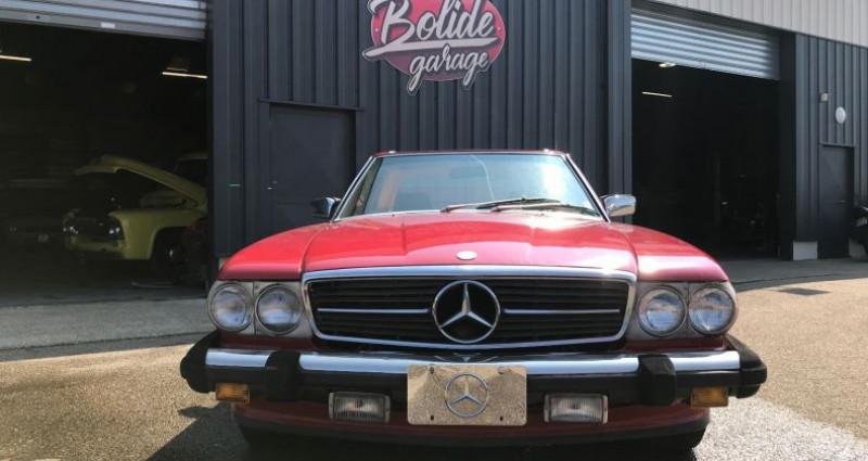 Mercedes SL 560 V8 Injection 5,6l En France Rouge occasion à SAINT ANDRE DE CORCY - photo n°5