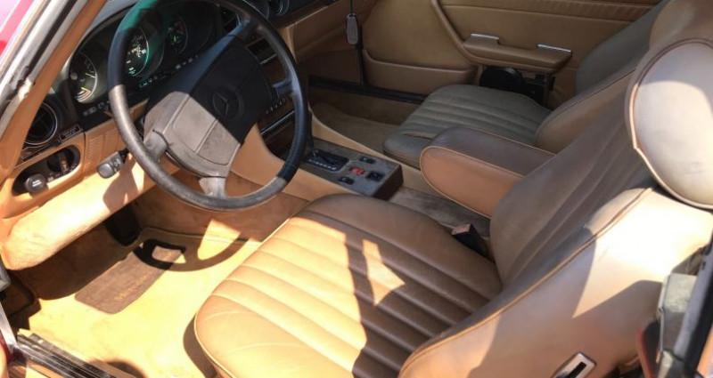 Mercedes SL 560 V8 Injection 5,6l En France Rouge occasion à SAINT ANDRE DE CORCY - photo n°6
