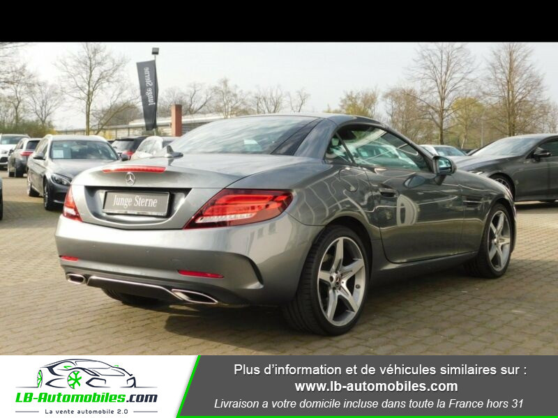 Mercedes SLC 200 AMG 9G-Tronic Gris occasion à Beaupuy - photo n°3