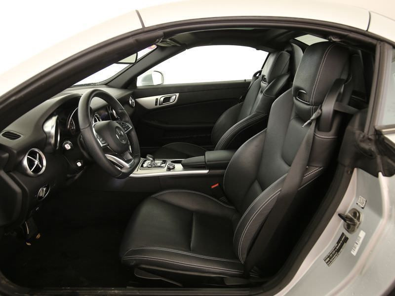 Mercedes SLC 200 Argent occasion à Beaupuy - photo n°4