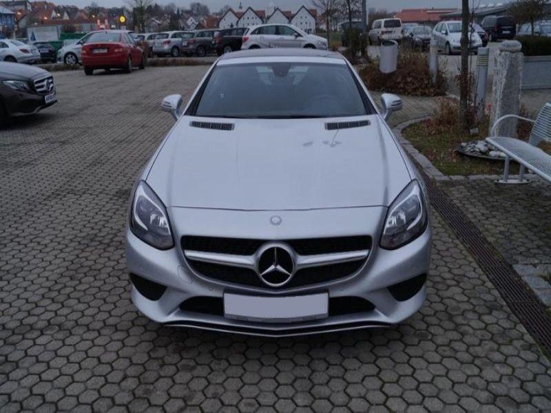 Mercedes SLC 200 Argent occasion à Beaupuy - photo n°9
