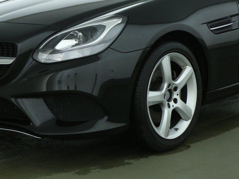 Mercedes SLC 200 Noir occasion à Beaupuy - photo n°8