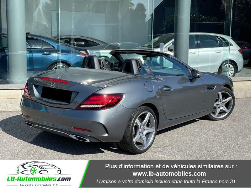 Mercedes SLC 250 d 9G-Tronic Gris occasion à Beaupuy - photo n°3