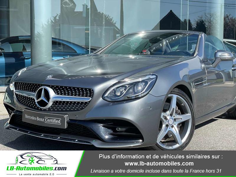 Mercedes SLC 250 d 9G-Tronic Gris occasion à Beaupuy - photo n°7