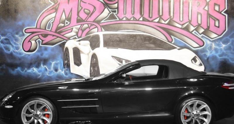 Mercedes SLR MC LAREN ROADSTER Noir occasion à CANNES - photo n°2
