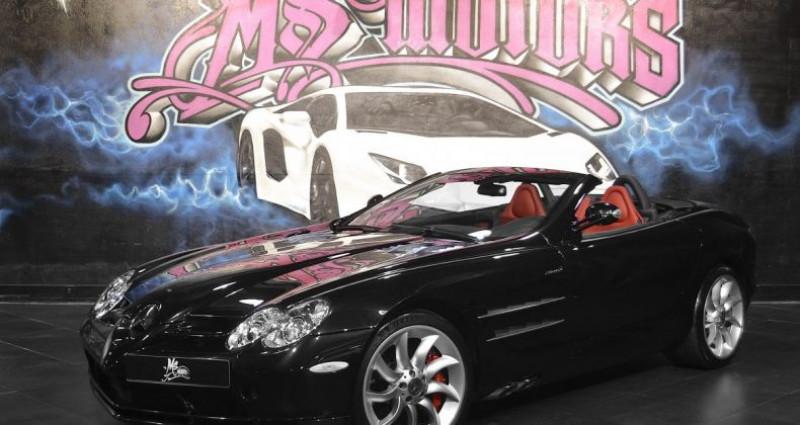 Mercedes SLR MC LAREN ROADSTER Noir occasion à CANNES