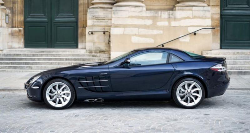 Mercedes SLR McLaren *Crystal Covellin Blue* Bleu occasion à PARIS - photo n°4
