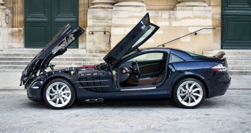 Mercedes SLR McLaren *Crystal Covellin Blue* Bleu occasion à PARIS - photo n°6