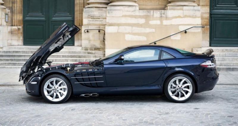 Mercedes SLR McLaren *Crystal Covellin Blue* Bleu occasion à PARIS - photo n°5