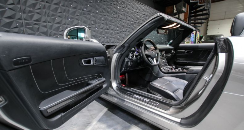 Mercedes SLS AMG ROADSTER Gris occasion à CHAVILLE - photo n°7