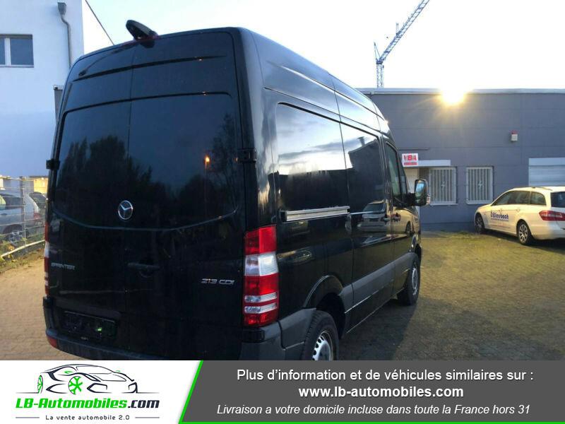 Mercedes Sprinter 213 CDI 4x2 Noir occasion à Beaupuy - photo n°2