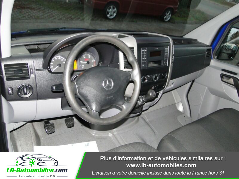 Mercedes Sprinter 313 CDI 4x2 Bleu occasion à Beaupuy - photo n°2