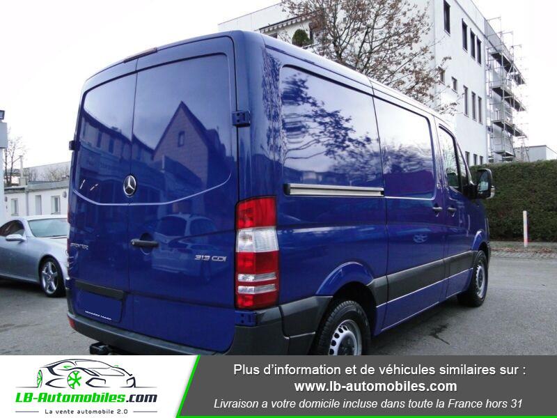 Mercedes Sprinter 313 CDI 4x2 Bleu occasion à Beaupuy - photo n°3