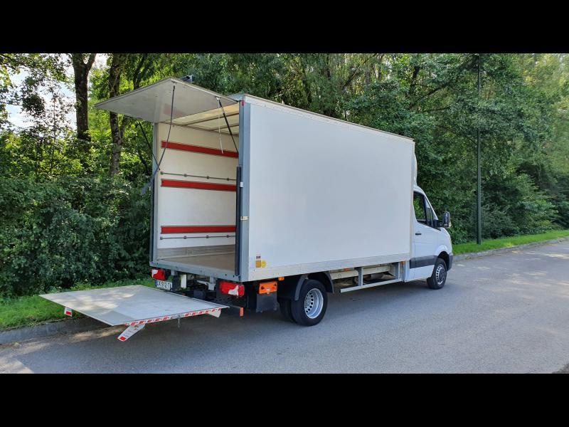 Mercedes Sprinter 513 CDI 43 3T5 Caisse 20m3 + hayon Blanc occasion à Gières - photo n°4