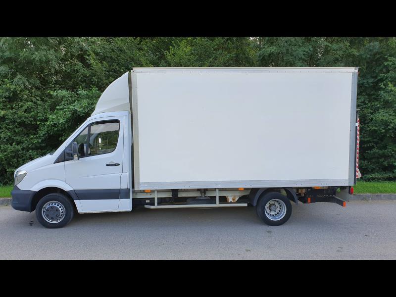 Mercedes Sprinter 513 CDI 43 3T5 Caisse 20m3 + hayon Blanc occasion à Gières - photo n°8