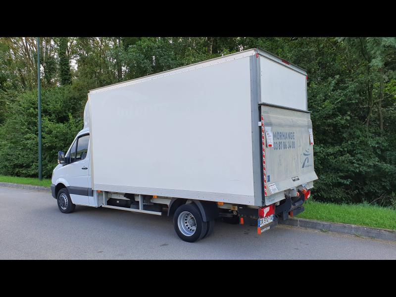 Mercedes Sprinter 513 CDI 43 3T5 Caisse 20m3 + hayon Blanc occasion à Gières - photo n°7