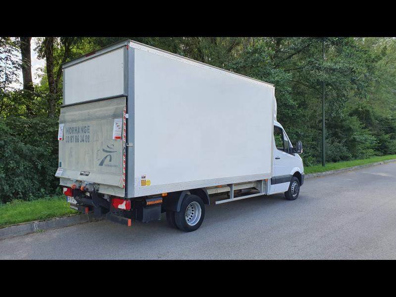 Mercedes Sprinter 513 CDI 43 3T5 Caisse 20m3 + hayon Blanc occasion à Gières - photo n°3